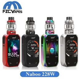 Wholesale Authentic Smoant Naboo W Starter Kit with ml Bulb Glass Mesh Tank Music Mode Box Mod Original