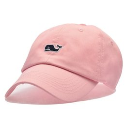 0d4a0a651c2 Baseball Cap Men Dad Hat Women For Sports Brand Cetacean embroidery Autumn  Winter Bend Visor Male Bones Fitted Cap Baseball Hats