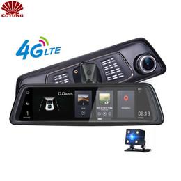 1080P 4G Android зеркало двойной камеры ремень версия с FDD LTE QUAQ группы с ADAS Google Map навигации парковка видео сигнализации