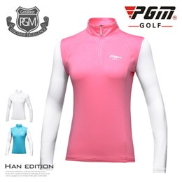 $enCountryForm.capitalKeyWord Australia - Coolmax Women Clothes Ultra-thin Tops Sun Protection Ice Polo Shirt Silk Long Sleeves High-end Slim Shirt Outdoor Sportswear