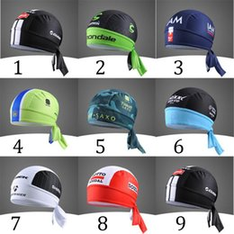 Wholesale bandana WildSurfer Outdoor Running Scarf Cycling Sports Practical Bicycle Bike Cycling Hikking Pirate Hats Caps Bandana Headbands Scarf