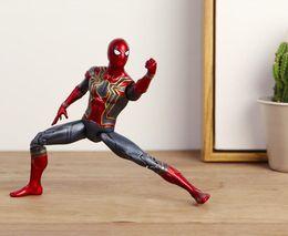 $enCountryForm.capitalKeyWord NZ - 17cm Marvel Avengers Action Figures Infinity War Superhero Iron Spider-Man PVC Toys Collectible Model Kids Toy Novelty Items