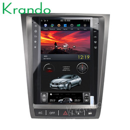 "$enCountryForm.capitalKeyWord UK - Krando Android 6.0 11.8"" Vertical screen tesla style car dvd radio audio player for Lexus GS gps navigation entertainment multmedia system"