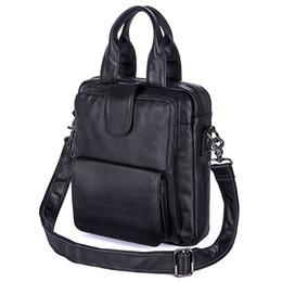 $enCountryForm.capitalKeyWord UK - Nesitu High Quality Black Real Skin Genuine Leather Men Messenger Bags Male Briefcase Portfolio for 12.9'' ipad M7266