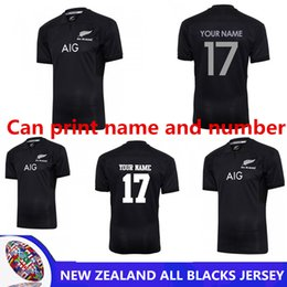 2018 New Zealand All Blacks Rugby Jersey Shirt 2017 Season 50b5c7a85