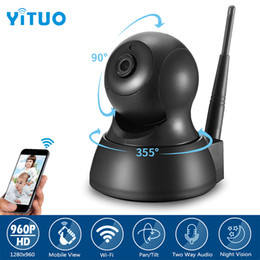 p2p cameras Australia - YITUO Mini CCTV Wifi Camera Home Security HD 960P 1.3MP Wireless Baby Monitor Surveillance IP Camera P2P Two ways AUdio Cam