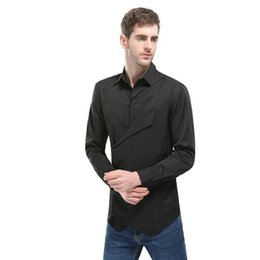 $enCountryForm.capitalKeyWord UK - Fashion Brand Camisa Masculina Long Sleeve Shirt Men Korean Slim Design Formal Casual Male Dress Size