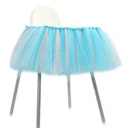 $enCountryForm.capitalKeyWord UK - Table Clothes Tulle Table Skirts Cover Multi Color Home Table Decoration for Girls Princess Party Baby Shower Slumber Wedding Birthday