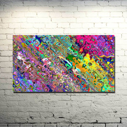 trippy art 2019 -  Trippy Abstract Art Silk Fabric Poster Print 13x24 20x36inch Picture For Living Room Decor 011 cheap trippy art