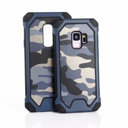 $enCountryForm.capitalKeyWord UK - Camouflage Army Armor Hybrid Military Hard Plastic+Soft TPU Silicone Case for iphone XS MAX XR 6S 7G 8G PLUS Samsung S8 S9 plus NOTE9