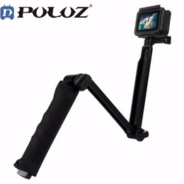Wholesale Way Floating Handle Grip Tripod Mount Selfie Stick for Go pro HERO For Gopro Hero Accessories