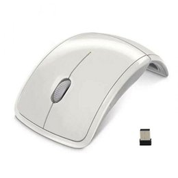 Foldable wireless optical usb mouse online shopping - Ultrathin GHz Foldable Wireless Arc Optical Mouse Mice with Mini USB Receiver for Pad PC Laptop Notebook Computer QJY99