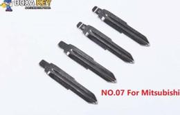 $enCountryForm.capitalKeyWord Australia - (5pcs) NO.07 Key Blade Replacement Flip Floding Blade Car key Blank For Mitsubishi Outlander