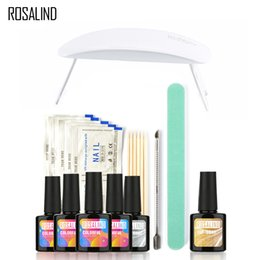 $enCountryForm.capitalKeyWord Canada - 4PCS 10ML UV Gel +Top Base Coat +SUNmini Soak-off Gel Nail Polish Kit Nail Art Tools Sets Kits Manicure Set Nail Gel