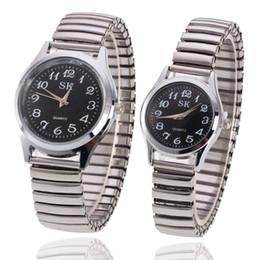 $enCountryForm.capitalKeyWord Australia - Round glass black face white unisex business digital quartz couple watch