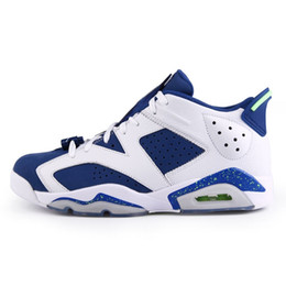 0007e876511f61 Cheap Mens Jumpman 6 low basketball shoes 6s Insignia Blue Ghost Green Oreo Valentines  day Slam dunk Air AJ6 VI sneakers with original box