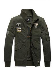 571af049537c Wholesale 2018 Personality Embroidery Mens Designer Jackets Pocket  Decoration Face Jackets Men Comfortable Breathable MA1 Pilot Jackets