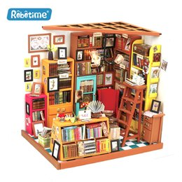 $enCountryForm.capitalKeyWord UK - Western-style bookstore hand-assembled DIY cabin toys, creative products, wooden gifts, toys that can cultivate children's autonomy!