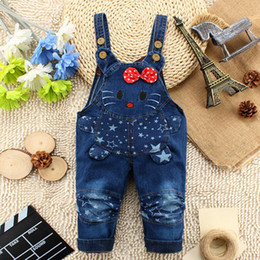 $enCountryForm.capitalKeyWord Canada - 2016 kids overall hello kitty jeans clothes newborn baby bebe denim overalls jumpsuits for toddler infant boys girls bib pants