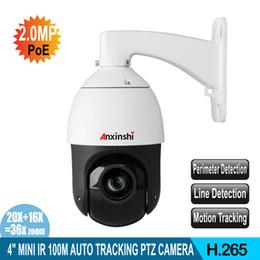 SMD Mini 2MP IR 100M versione notturna 1080P IP Telecamera PTZ 36X ZOOM POE AUTO TRACKING PTZ IP CAMERA 36X ZOOM in Offerta