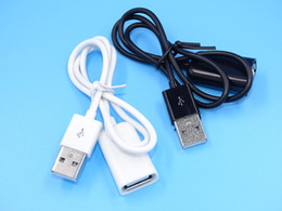 white usb extension 2019 - USB 2.0 Extension Cable Charging and Data Cable USB Male to Female Connector 1m 50cm length cheap white usb extension