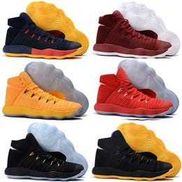 Mens red colour shoes online shopping - 2018 New High Cut Basketball Shoes For Mens Training Cheap High Quality Grey BHM Black Colour Sneakers Size