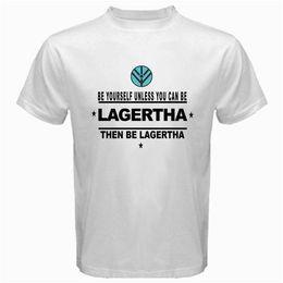 Lagertha vikings olmak tv dizisi Tshirt Beyaz Mens 2018 moda Marka T Gömlek O-Boyun% 100% pamuk T-Shirt Tops indirimde