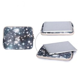 13 tablets pc online shopping - New Hot quot Mini PC Laptop Bag Canvas Double Zipper Mysterious Starry Sky Tablet Sleeve Case Computer Protector Cover