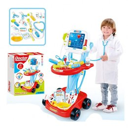 China Children Pretend Play And Dress Up Toy Happy Little Doctor Fun Device Combination Game Set For Kids 17pcs 51lq Ww supplier doctor play set toys suppliers
