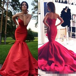charming burgundy lace prom dress 2020 - Charming Mermaid Evening Dresses abendkleide Vestidos Sweetheart Ruffle Ruched Backless Court Train Sexy Prom Gown For G