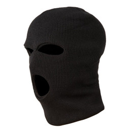 $enCountryForm.capitalKeyWord UK - 3 Holes Mask Hood Color Black Swat Gign Raid Special Forces Paintball Ski Snow Surf Bicycle mask