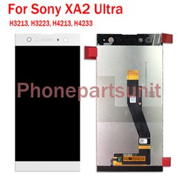 "sony xperia screen repair Australia - 6.00"" Original New For Sony Xperia XA2 Ultra H3213 H3223 Dual H4213 Complete LCD Display Assembly With Touch Screen Digitizer Repair Part"