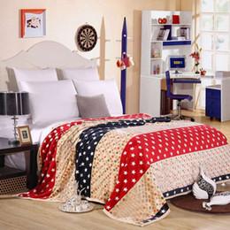 Luxo Estrela Cobertor de impressão macia e tingimento cobertor de lã coral sofá quarto cobertor quente e macio e confortável garantia de qualidade do carro venda por atacado