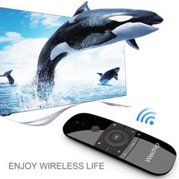 Новое прибытие летающий воздух Мышь w1 перезаряжаемая литиевая батарея 2.4G Беспроводная клавиатура Пульт дистанционного управления тачпад для ПК Андроид TV box 2019