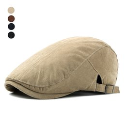 65fb7c4b704 beret caps men summer 2019 - Fashion Adjustable Beret Caps for Men Women  Spring Summer Outdoor