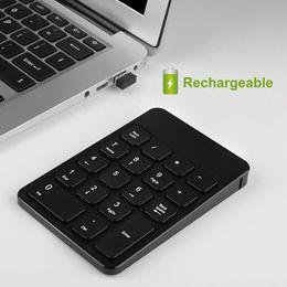 $enCountryForm.capitalKeyWord Australia - [AVATTO] Rechargable 2.4G Wireless USB Numeric Keypad 18 Keys Ultra Slim Number Pad Digital Keyboard for PC Laptop bank Cashier
