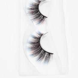 $enCountryForm.capitalKeyWord UK - Seashine strip 3d silk lashes 3d colorful silk eyelashes false eyelashes fancy color lashes accept private label free shipping