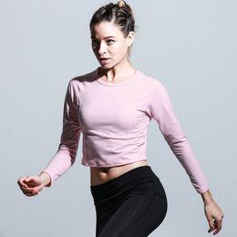 $enCountryForm.capitalKeyWord NZ - Yoga Tops Shirt Fitness Gym Workout Short Sleeve Shirts Tee crop dry fit GYM shirt