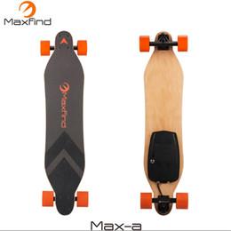 Опт Maxfind электрический скейтборд longboard четыре колеса с 600 Вт концентратор одного двигателя беспроводной пульт дистанционного управления