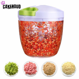 $enCountryForm.capitalKeyWord NZ - wholesale Multifunctional High Speed Cutting Machine Garlic Chopper Vegetable Crusher Manual Meat Grinder Kitchen Accessories