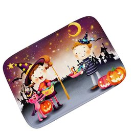 Chinese  Cartoon Children Dress Up Halloween Ghosts Carpet Mats Non-slip Floor Rug Super Soft Decorative Carpet For Living Room manufacturers