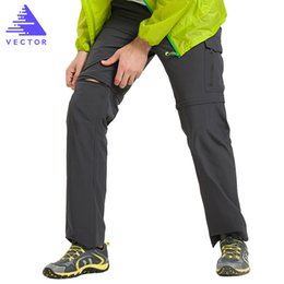 6e002253d4ed VECTOR Quick Dry Pants Men Summer Breathable Camping Hiking Trousers  Removable Trekking Hunting Hiking Pants Hiking Shorts 50021 C18111401
