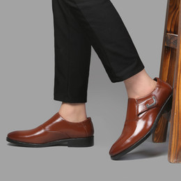 italian casual shoes for men Canada - designer formal shoes men italian brand oxford shoes for men loafers mens shoes casual chaussure homme zapatos de hombre de vestir formal