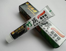 Discount bamboo charcoal toothpaste - charcoal toothpaste whitening black tooth paste bamboo charcoal toothpaste oral hygiene tooth paste DHL free shipping