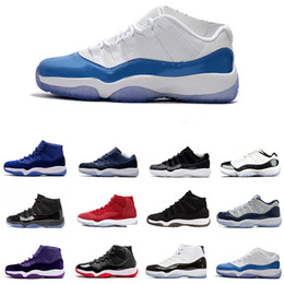 womens athletic boots 2019 - Cheap Athletics Sneakers 11 Gym Red &white Chicago Midnight Navy WIN LIKE 82 Bred Basketball Shoes 11s Space Jam Mens Sp