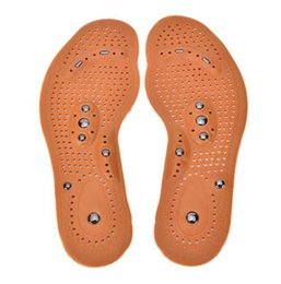 Wholesale Magnetic insole care footbed magnetotherapy Foot Massage Magnet Therapy foot pain acupuncture points foot Health