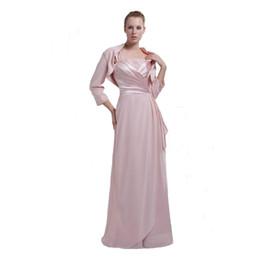 $enCountryForm.capitalKeyWord UK - Modest Mother of the bride Dress Chiffon Long Length Beaded Professional Designer Dress Mum With Jacket