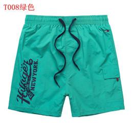 Lycra rash guards online shopping - 2019 new fashion men s shorts new casual beach shorts men s summer style Bermuda swimming shorts men s sports short