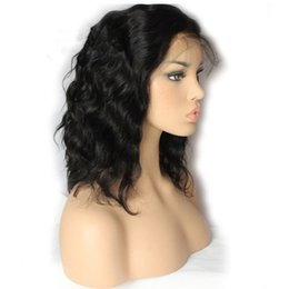 Chinese  lady Hair Wigs loose wave curly lace front wig synthetic heat resistant sexy natural black short hair cut women wigs FZP13 manufacturers