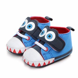 ffd9fa1a024be Newborn Baby Girls Boys Shoes Canvas Infant Toddler Soft Bottom Anti-slip  First Walkers Baby Shoes Cute Prewalker Sneakers